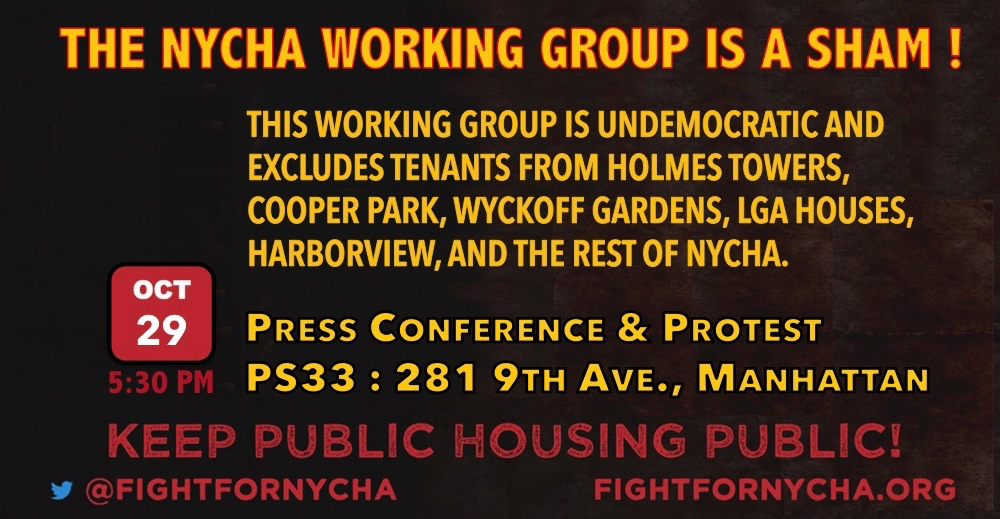 The NYCHA Working Group is corrupt !